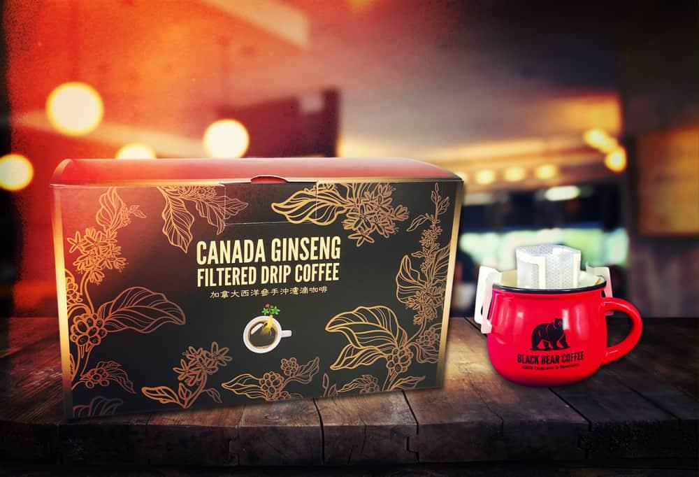 西洋參咖啡禮盒